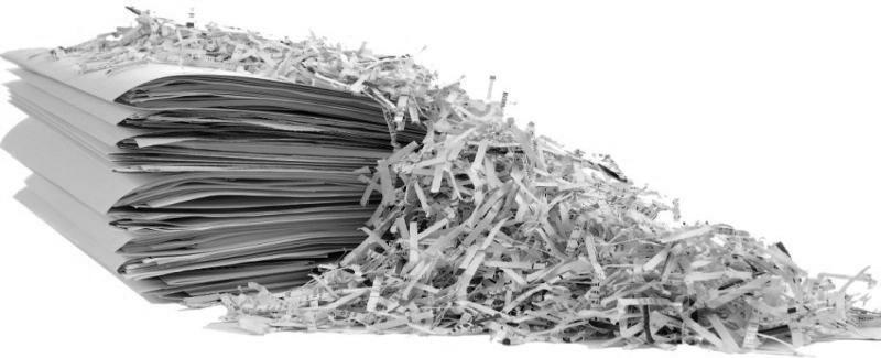 Destruction de documents archiv s tremblaye d m nagements for Demenagement garde meuble